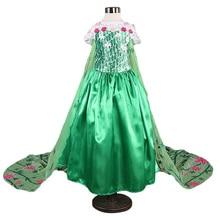 Party Dress Elsa Princess Snow Queen Kids Anna For Girls
