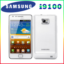 Оригинал горячая продажа 100% Оригинал Разблокирована Samsung Galaxy S2 I9100 GPS 16 ГБ ROM 8MP 4.3 Inch'Refurbished Смартфон Бесплатная Доставка