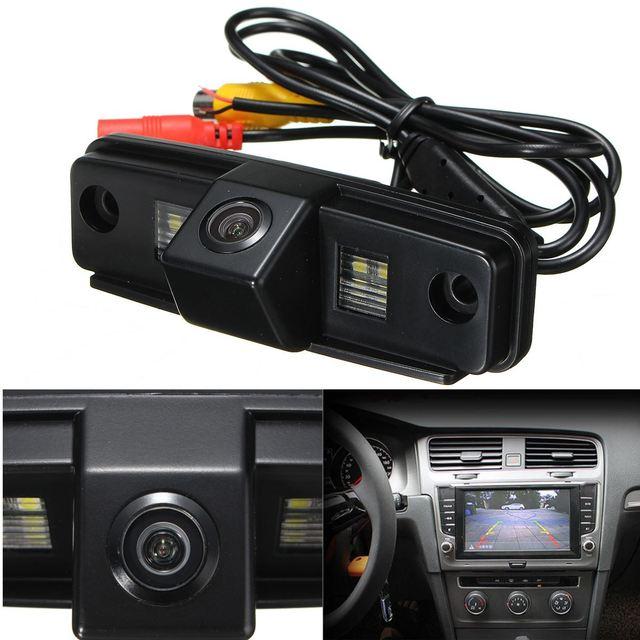 Para Subaru/Forester/Outback 2007-2012/Sedan/Tribeca Car Visão CCD Noite de Backup Visão Traseira Câmeras de Estacionamento câmera Reversa