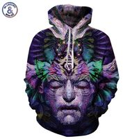 Space Galaxy Hoodeis Men Women Hooded Hoodies With Cap 3d Sweatshirt Print Dreamlike Face Long Sleeve