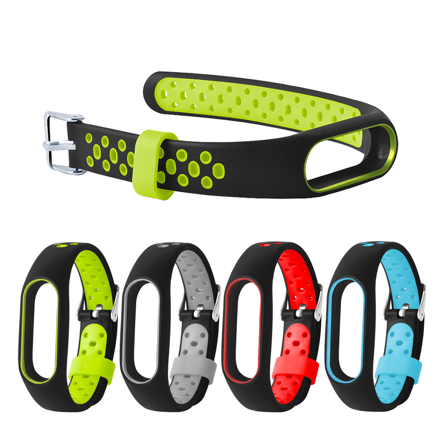 For Mi Band 2 Strap Silicone Bracelet for Xiaomi Mi Band 2 Wristband Band Bracelet Wrist Strap for Mi Band 2 Belt Accessories
