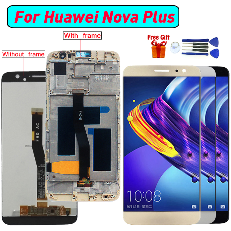 For Huawei nova Plus Display LCD Screen Digitizer Assembly For Huawei nova plus MLA-L11 L02 L12 display screen lcd moduleFor Huawei nova Plus Display LCD Screen Digitizer Assembly For Huawei nova plus MLA-L11 L02 L12 display screen lcd module