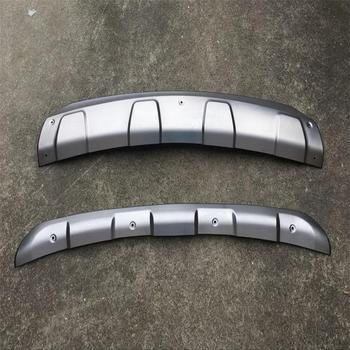 High quality plastic ABS Chrome Front+Rear bumper cover trim For 2017 Mazda CX-5