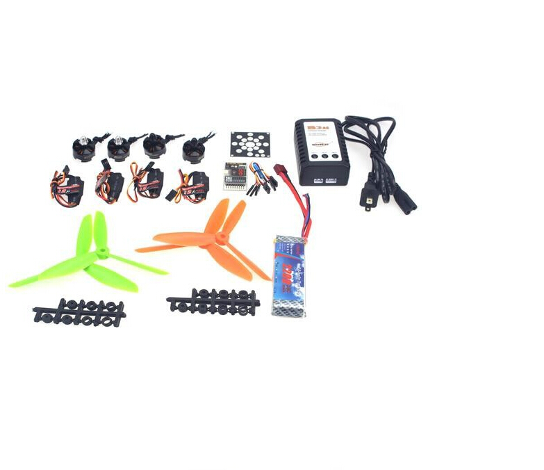 F12065-K RC Helicopter Kit KV2300 Brushless Motor+12A ESC+QQ Super Flight Control+FC 6x4.5 Propeller for 250 Helicopter