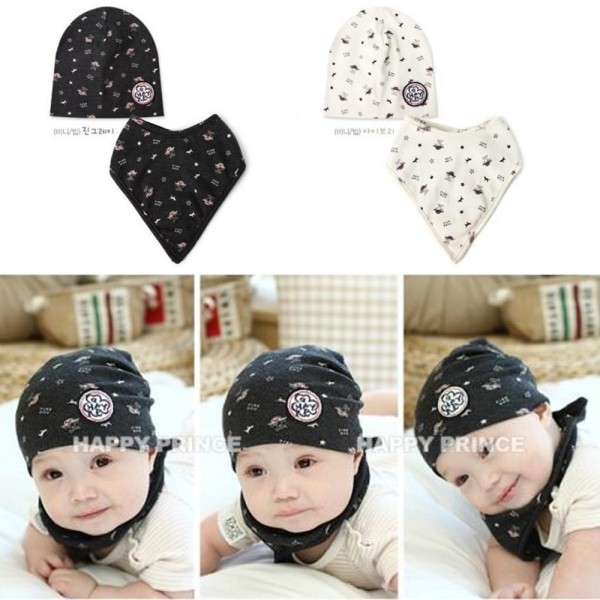 Kids Bibs Hat Toddler Bandana Cute Animal Pattern Triangle Head Scarf Boy Girl Saliva Towel New 2 layers newborn cartoon colorful baby boy girl bibs infant soft cotton toddler animal burp cloth waterproof saliva scarf towel