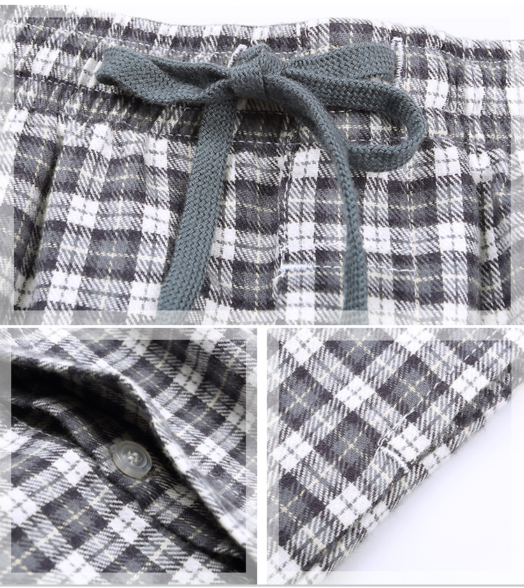 Forró eladás Sűrű téli 100% pamut alvófenék a férfiak melegen - Alsónemű - Fénykép 5