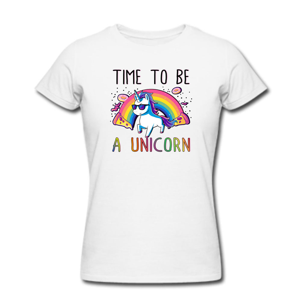 cce48c24a3e Rainbow Donuts Unicorn T Shirt Men and Women Tee big Size S XXXL-in T-Shirts  from Men s Clothing on Aliexpress.com