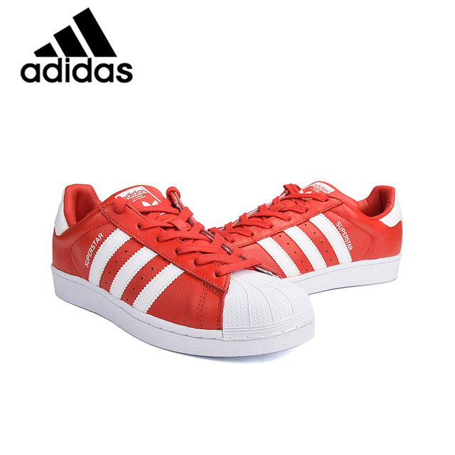 Бренд Адидас Официальный Superstar Originals Мужская и женская обувь для скейтбординга унисекс обувь для отдыха легкие кроссовки на шнуровке BB2250
