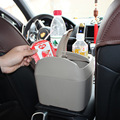 2 garrafa de bebidas titulares no Veículo montado lixo multifuncional com caixa de suporte de copo do carro de Grande Capacidade SD