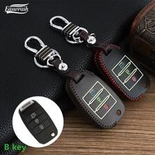 Car Luminous Key Cover Chain For KIA RIO 4 KX Cross K2 K3 K5 Carens Cerato Soul Forte Sportage Optima Sorento  Ceed Key Holder