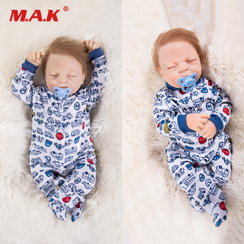 bebes reborn 18inch 48cm Soft Silicone Doll Lifelike Alive Sleeping Dolls Christmas Gifts for Boys lol Doll Toys Supricebebes reborn 18inch 48cm Soft Silicone Doll Lifelike Alive Sleeping Dolls Christmas Gifts for Boys lol Doll Toys Suprice