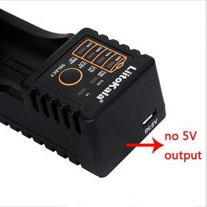 Image 3 - HK LiitoKala Lii 100 B 18650 cargador DE batería Para 266650 16340 CR123 LiFePO4 1,2 V ni mh ni cd batería recargable (na