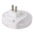 Carregador Do Telefone móvel Para Sala Quarto Sensor de Luz Novidade LED Night Light Lamp Atmosfera Conveniência 2 Porta USB