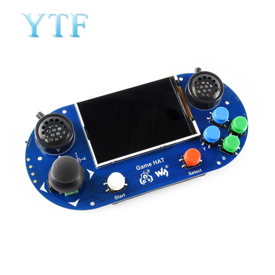 Handheld game console expansion board retro game console 3.5 inch IPS display Raspberry pi 3 B+ kit