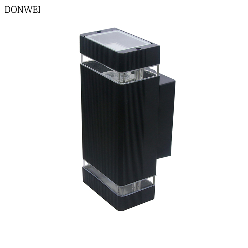 Modern <font><b>10W</b></font> <font><b>LED</b></font> Outdoor Waterproof Wall Lamp Home Decorative Lighting Wall Sconce Porch Garden Wall Light <font><b>LED</b></font> Wall Lamps image