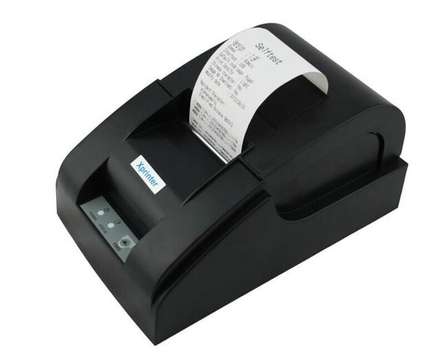 Высокая Скорость оригинальный USB Порт 58 мм Термальный Чековый POS принтер Низкий Уровень Шума Мини термопринтер XP-58IIH оптовая