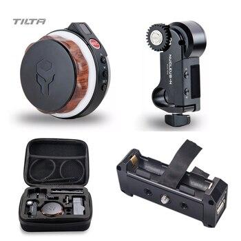 цена на Tilta Nucleus-Nano Wireless Follow Focus Nucleus N Lens Control System with 18650 battery plate 15mm rod adapter