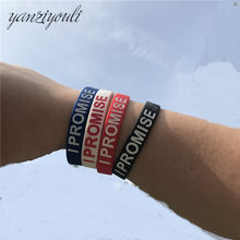 High Quality James Silicone Bracelet I PROMISE More Than An Athlete Basketball Player Kids Siliocne Wristband Women Men(China)