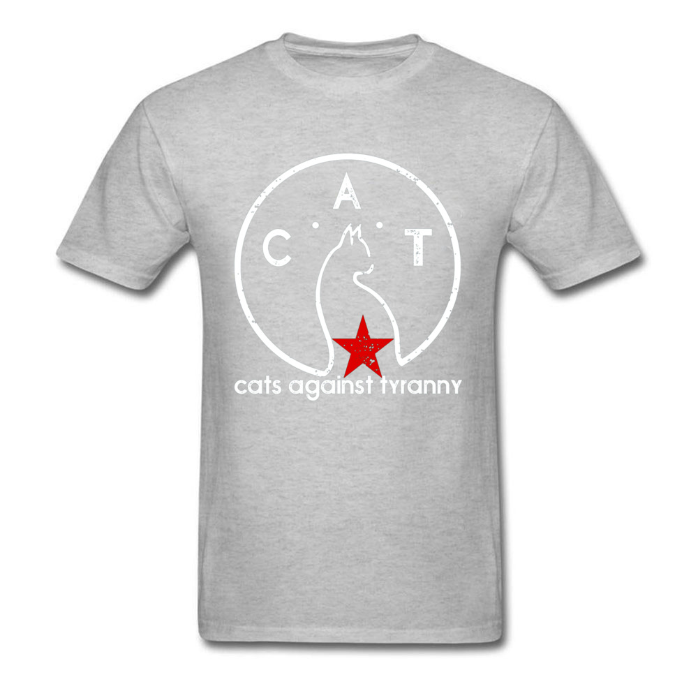 Cats Against Tyranny Sketch Profile Black T Shirt Cotton Mens Top T shirts Graphic Loose Leisure Hip hop Tshirts Plain Design in T Shirts from Men 39 s Clothing