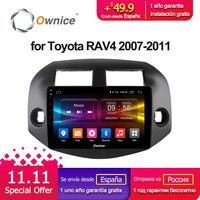 Ownice C500 + G10 Android 8,1 Octa Core 10,1 автомобиль радио плеер стерео gps для TOYOTA RAV4 2007 2008 2009 2010 2011 2G RAM 32G ROM