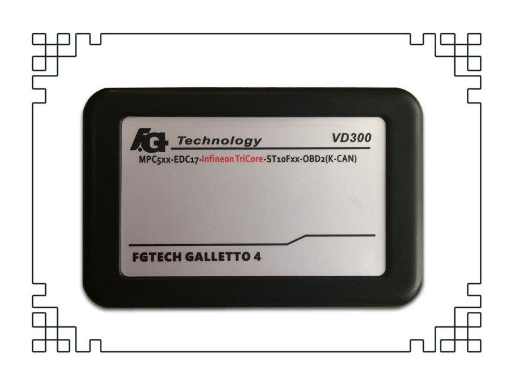 Самая низкая цена VD300 V54 FGTech Galletto 4 Master BDM-TriCore-OBD функция FG Tech автомобильный ЭБУ с мульти-langauge