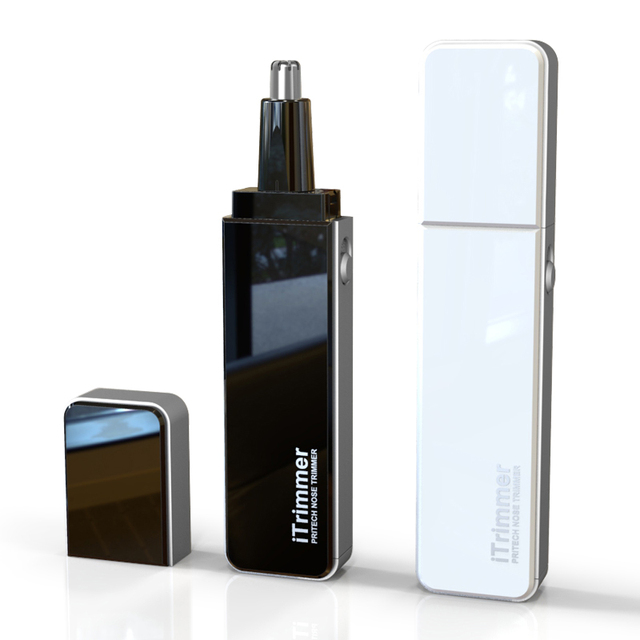 free shipping Electric Nose trimmer for nose Pritech Battery-powered nose hair trimmer