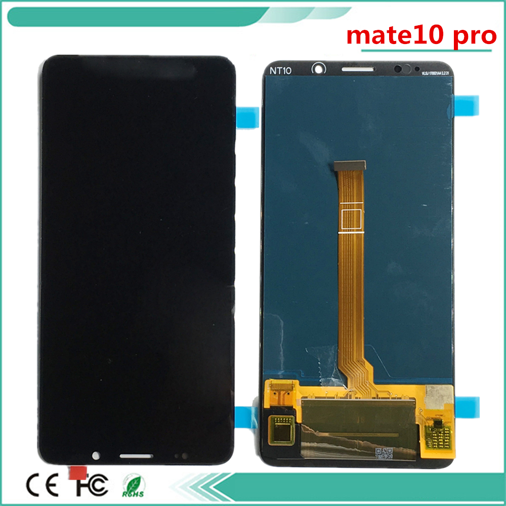 100% Tested lcd For huawei MATE 10 Pro LCD Display Digitizer Touch Screen Panel Glass For huawei 10 Pro LCD touchscreen