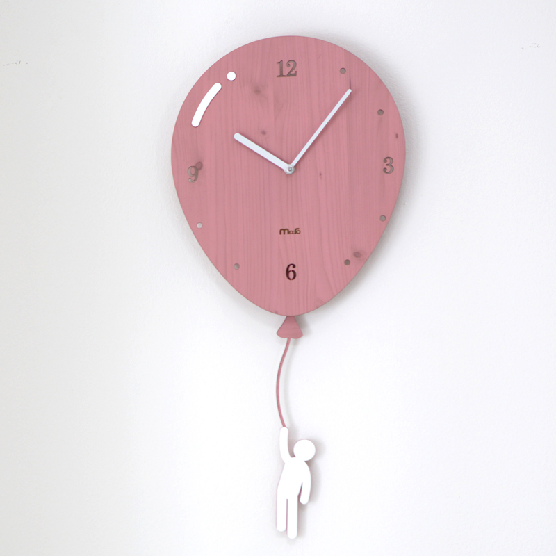 Swing Balloon Wall Clock 2