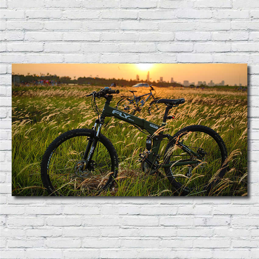 HD Print Painting Pictures Posters Modern Home Decor Bike Frame Wall Art Living Room Canvas posters canvas painting R179
