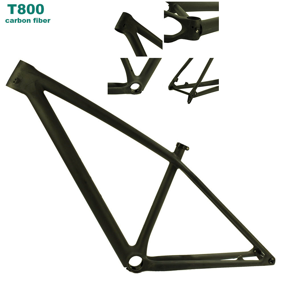 MCELO MTB Bike Frame Carbon Frame Rear 148mm*12mm Through Axle Bicycle Frame UD Gloss Matte Cadre Carbone Route 2019 M27501
