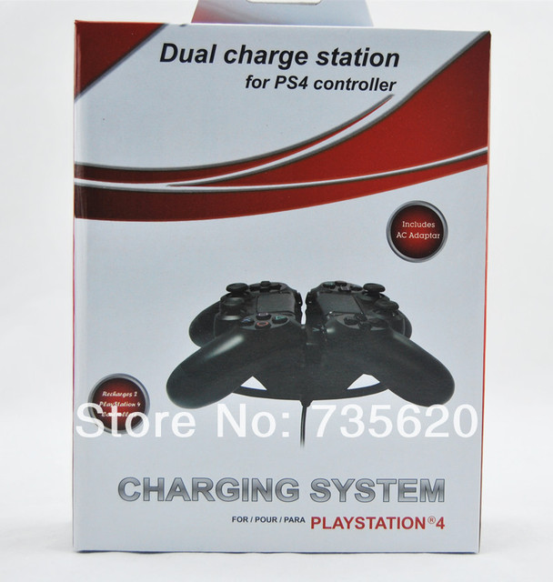 High Quality Coolest Design Charger  Dual Charge Station Dock for PS4 Controller Free Shipping