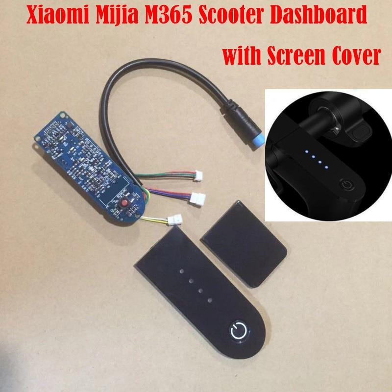 Xiaomi M365 pájaro Scooter placa de circuito con cubierta de pantalla Xiaomi M365 tablero M365 placa de circuito Scooter partes M365 Accesorios