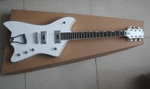Fabrik Großhandel Hohe Qualität G6199 Weiß Gretsch Billy-bo Mahagany Korpus Palisander Griffbrett Standard E-gitarre