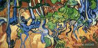 Картины Винсента Ван Гога корни деревьев Wall Art Ручная роспись высокое качество