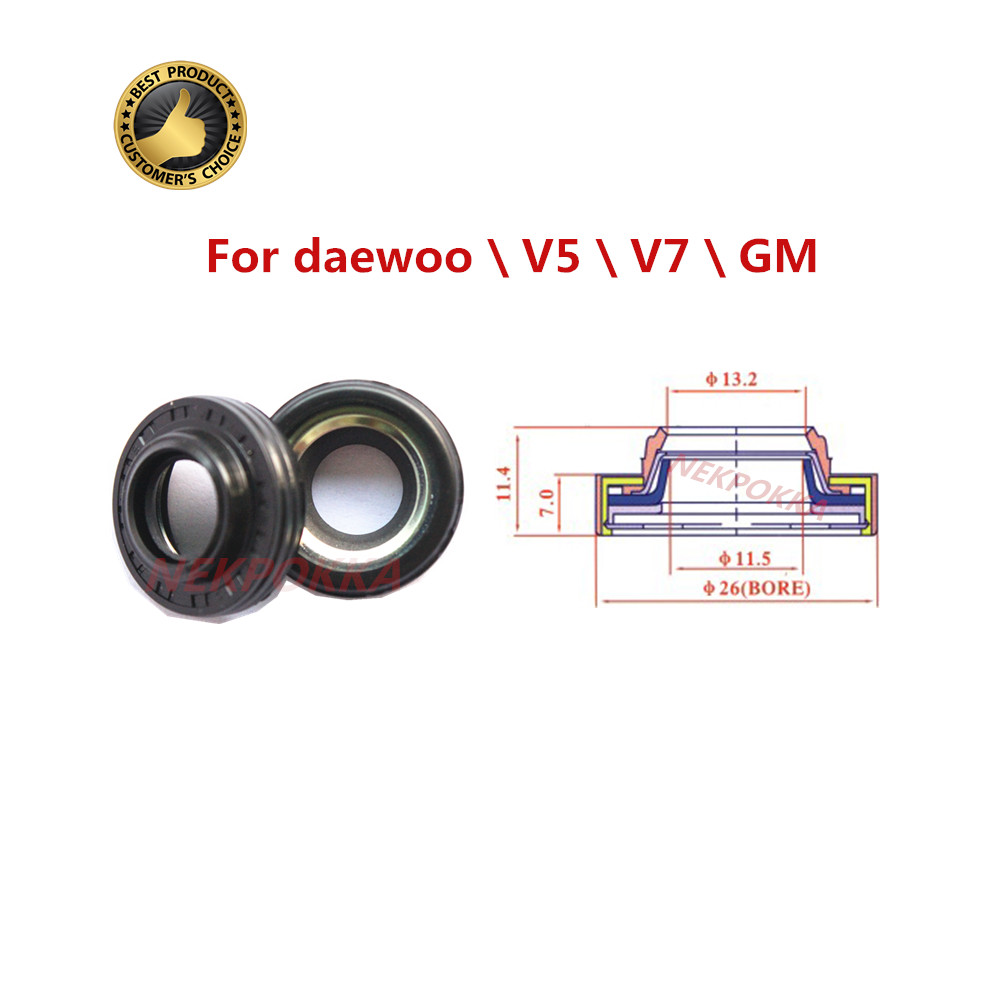 Free shipping Automotive air conditioning compressor oil seal for D MAX OIL SEAL for v5 v7