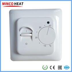 Электрический Подогрев пола комнатный термостат ручной тапочки с вышитым узором в виде оленей кабель использовать Термостат 220V 16A