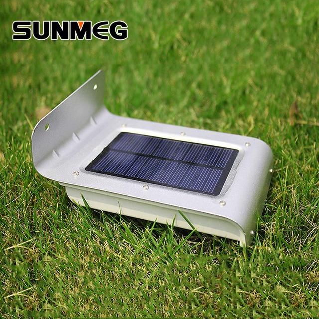 Exceptional Sunmeg 16 STÜCKE LED PIR Bewegungssensor Solar Licht Wand Im Freien  Wasserdichte Energiesparende Für Garten Dekoration