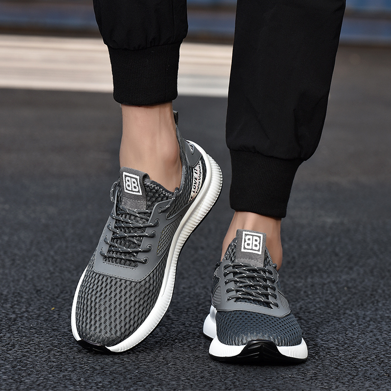 2019 Men Casual Shoes Breathable Sneakers Man Shoes Tenis Masculino Shoes Zapatos Hombre Sapatos Outdoor Shoes 38 44 in Men 39 s Casual Shoes from Shoes