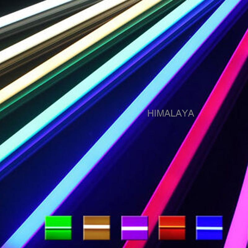 Toika 30 unids/lote 2ft 0,6 m 9 w led T8 tubo led bombilla luz de la lámpara rojo/verde/azul 2ft 600mm calidad superior SMD 2835 AC85-265v CE & ROHS 2-30 unids/lote 0,5 m/unids perfil de aluminio angular de 45 grados para 5050 3528 5630 tiras de LED blanco lechoso/canal de tira de cubierta transparente