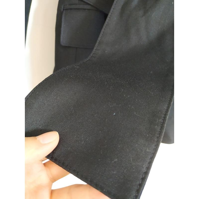 2019 nieuwe stijl lente vrouwen kleding Pak Zwart wit stijl jasje Casual mode bezetting vrouwen tops-in Blazers van Dames Kleding op  Groep 2