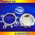 90-120 degreen led Lens + Reflector Collimator + Fixed bracket 20W 30W 50W 70W 100W LED 2set