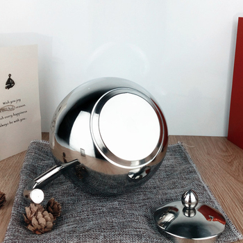 Stainless Steel Teapot Coffee Tea Kettle Loose Leaf Teapot with Infuser 1L 1.5L 2L 6