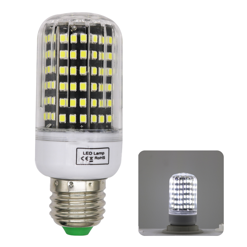 2835SMD Lampada LED Lamp Aluminum Radiator E27 220V Corn Light LED Bulbs 12W Candle Spotlight Chandelier Energy Saving for Home