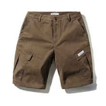Hot Sale 2019 Shorts For Men Cotton Hombre Male Solid Elastic Waist Summer Comfortable Pockets Short LJF