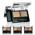 Hot sale professional eyebrow powder eye brow makeup waterproof eye shadow + double end brush make up palette set A2