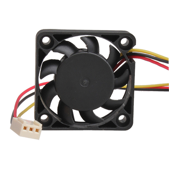 3 Pin 40mm Computer CPU Cooler Cooling Fan Fans PC 4cm 40x40x10mm DC 12V  E2shopping QJY99 1 2 5pcs 3 pin cpu 5cm cooler fan heatsinks radiator 50 50 10mm cpu cooling brushless fan ventilador for computer desktop pc 12v