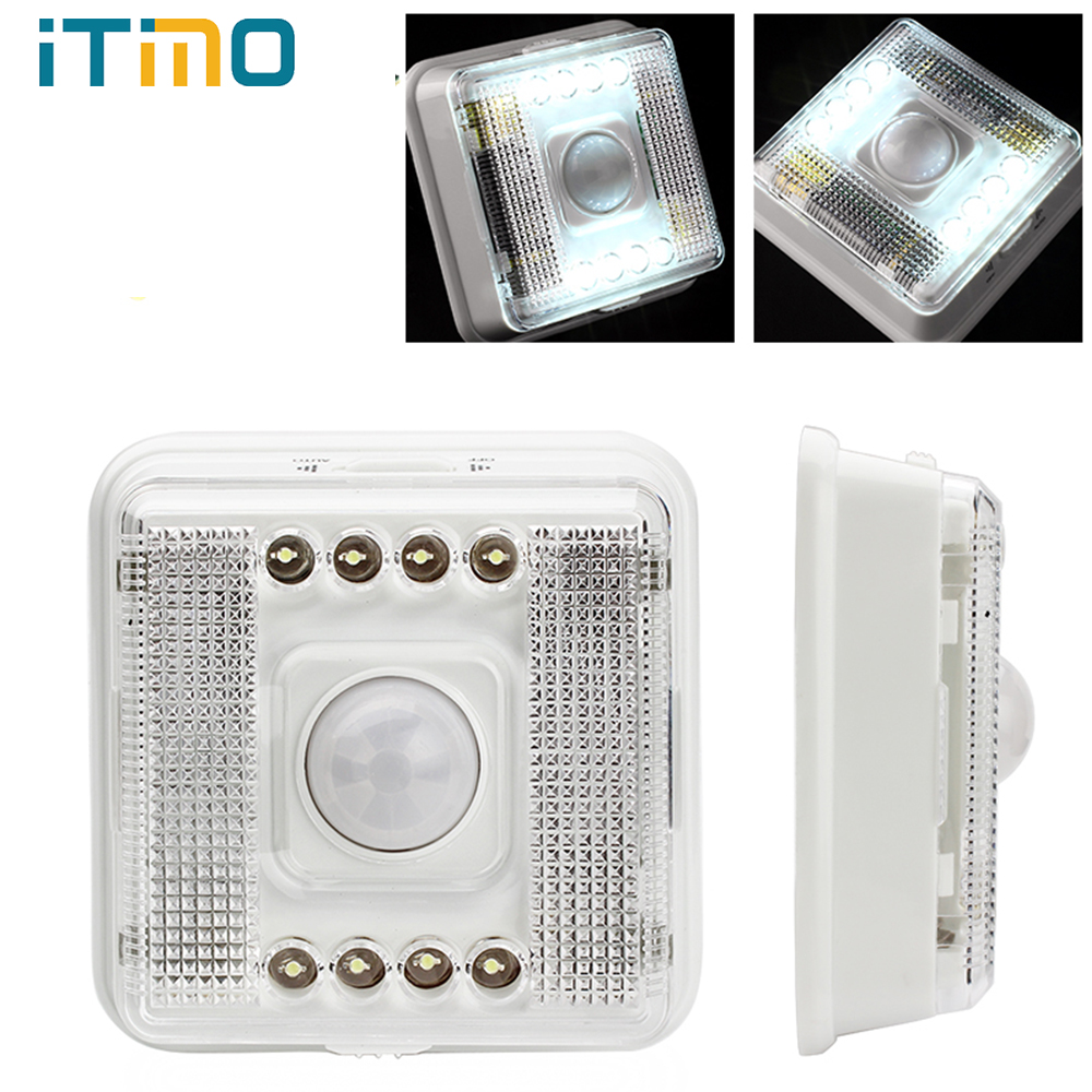 Camping Tents Outdoor Infrared PIR Auto Sensor 8 LE