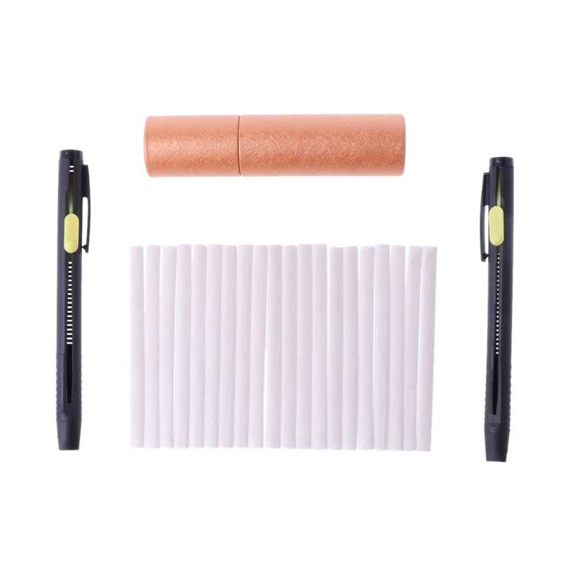 1 Set Tailors Chalk Pen Pencil Dressmakers Invisible Marking Sewing Fabric Cloth