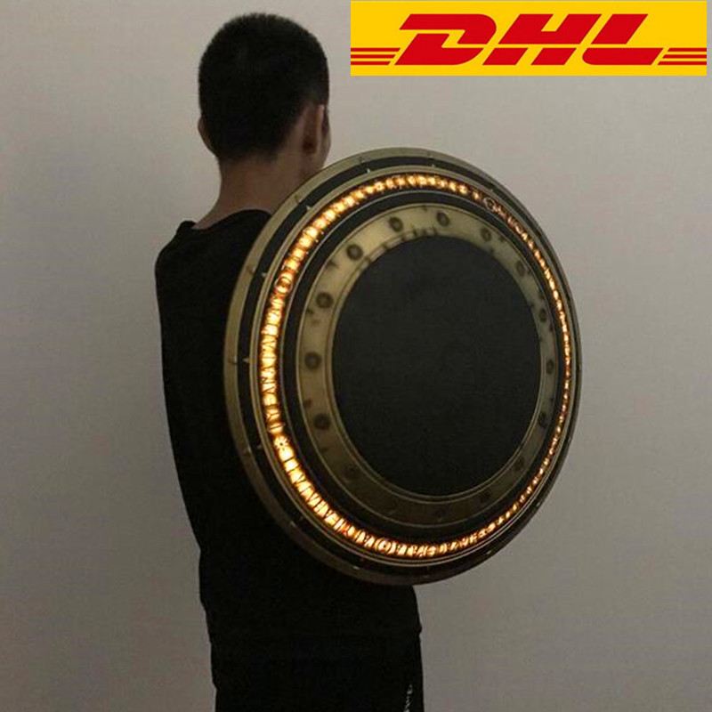 DC Comics Wonder Woman Shield 1:1 Cosplay With LED Light Weapon Prop Shield Diana Prince Justice League Superhero Cosplay T91