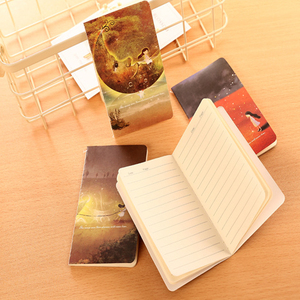 Image 5 - 40pcs/lot  Beautiful Wind 80k Car Line Diary Notebook Students Korean Stationery Notepad Small Notebook Stationery Wholesale